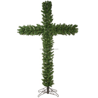China Manufaturer artificial Christmas tree LED Xmas tree cross pine tree