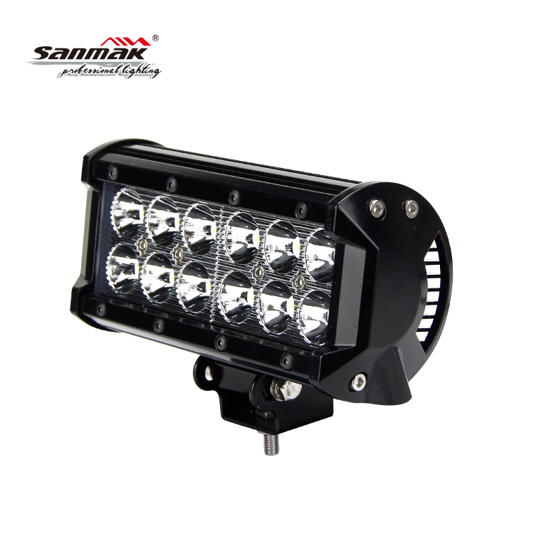 Hot sale 36W off road double row led driving light mini jeep light bar