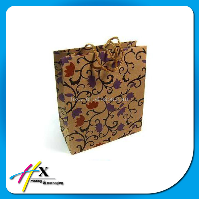 chinese top quality chinese supplier biodegradable shopping kraft paper for shopping and gift for shopping gift