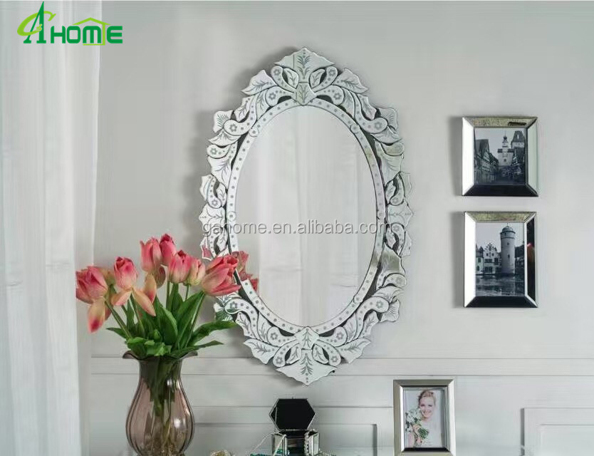 Oval Venetian Make Up Mirror Glass Frames For Wall Home Decor Modern Design Buy Make Up Mirror Oval Venetian Make Up Mirror Glass Frames Make Up Mirror For Wall Home Decor Modern Design