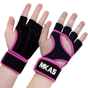 2018 Hot Weighted Fitness Neoprene Weight Lifting Gloves
