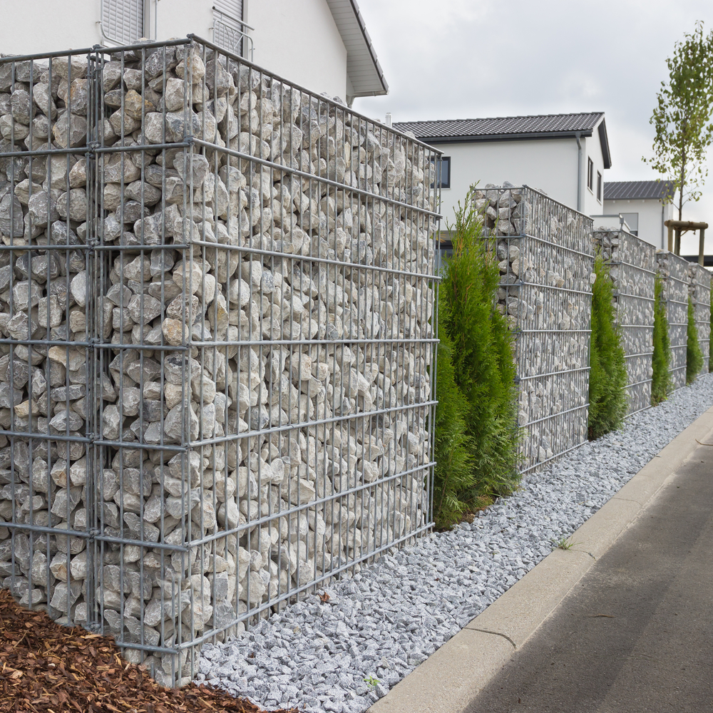 galvanized gabion baskets heavy metal mesh retaining wall 1*1*1m 3.0mm