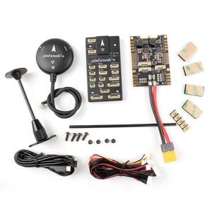 Prime Quality Pixhawk PX4 Flight Controller Kit Set Plastic Case 32Bit ARM  RC Part with M8N GPS and Power Board