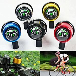 TTnight 22mm Small Mini Bike Cycling Bicycle Ring Bell Compass Ball (Random Color)