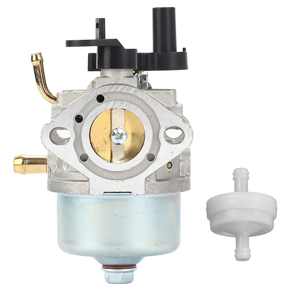 Hilom 801396 Carburetor with Fuel Filter for Briggs & Stratton 801233 801255 Snow Blower Thrower Toro R-TEK 2-Cycle Engines 084132 084133 for Toro 210 221 Powerclear Lawnboy Insight CCR3650 CCR2450
