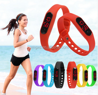 Fashion Sport Digital Watch Silicone Running Bracelet Watch