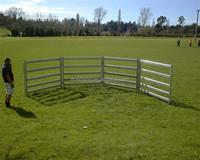 Portable animal yards