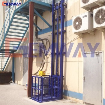 Hydraulic Warehouse Lift Platform Mezzanine Lift For Sale