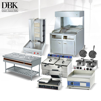 Factory direct sale One Stop Hotel Commercial Fast Food Kitchen Equipment
