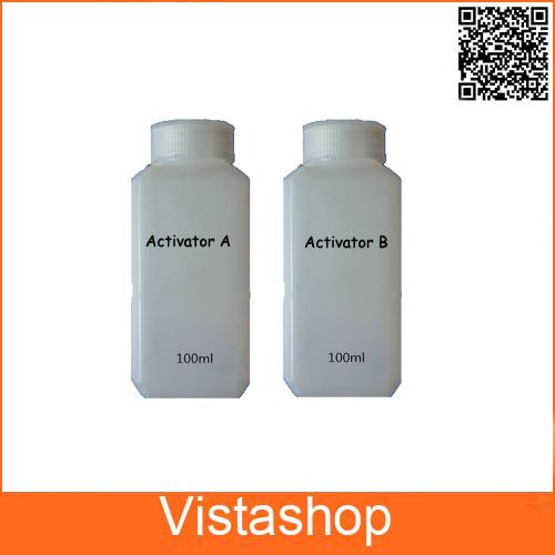 [해외]1 set 200ML Activator A and B+10Pcs A4 size hydrogra