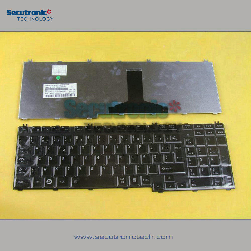 Hot New Products For 2017 Price List Laptop for Toshiba Satellite P300 L350 L500 P200 P205 X200 Keyboard French with low price