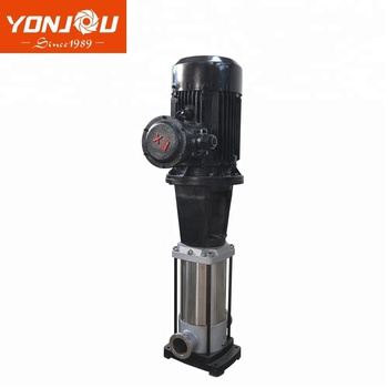 Stainless Steel Water Pressure Booster Pumps, Vertical Inline Multistage Pump