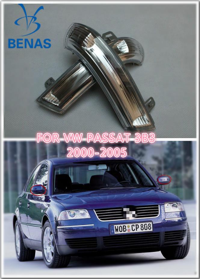 Для VW PASSAT 3B3 2000/01 - 2005 из светодиодов стайлинга автомобилей из светодиодов в зеркала сигнал поворота направление светло-серый футляр OE 1k0949101 / 102