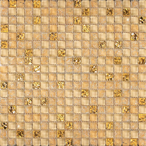 Background Kitchen Bathroom Wall Mini Square Colorful Crystal Ice Crackle Brown Glass Mosaic Tiles