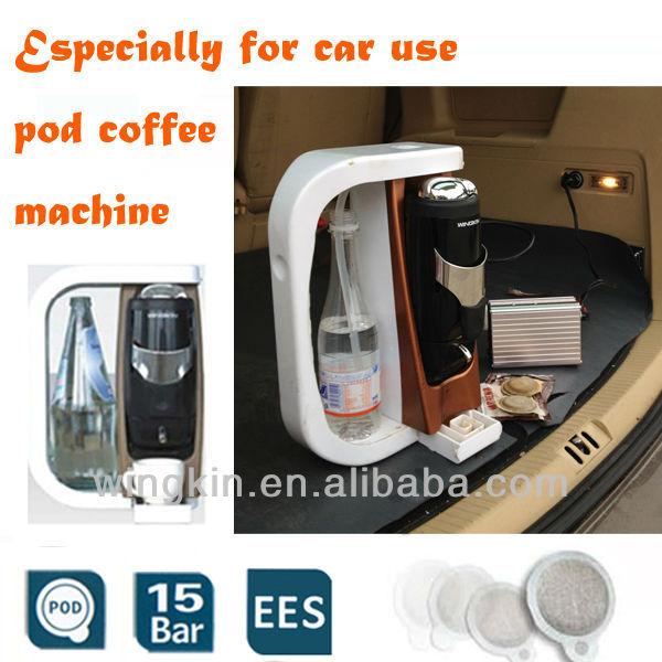 12 v portable main machine caf expresso pour voiture. Black Bedroom Furniture Sets. Home Design Ideas