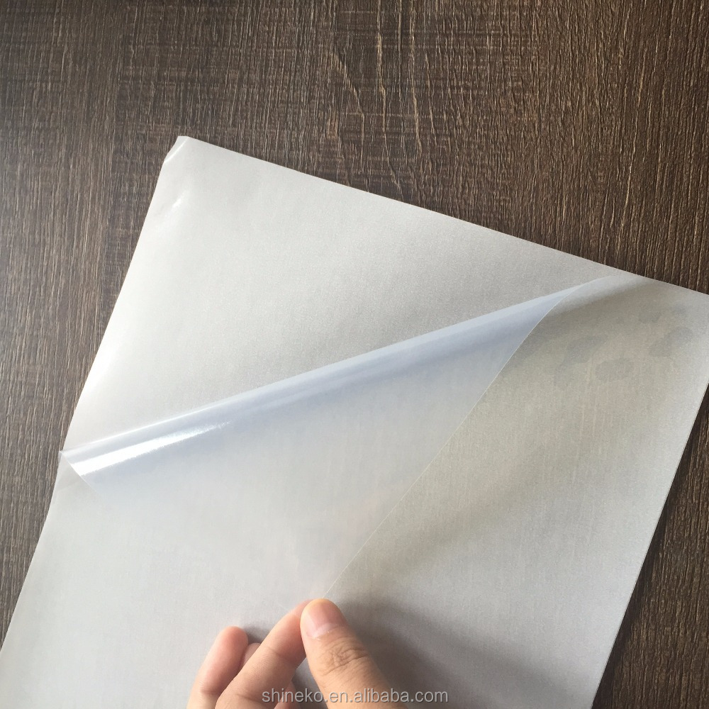 This is a photo of Printable Transparency Sheets within white