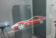 Hologram Display/Transparent Projection Screen/3D Film Rear Project for Shop Window Advertising
