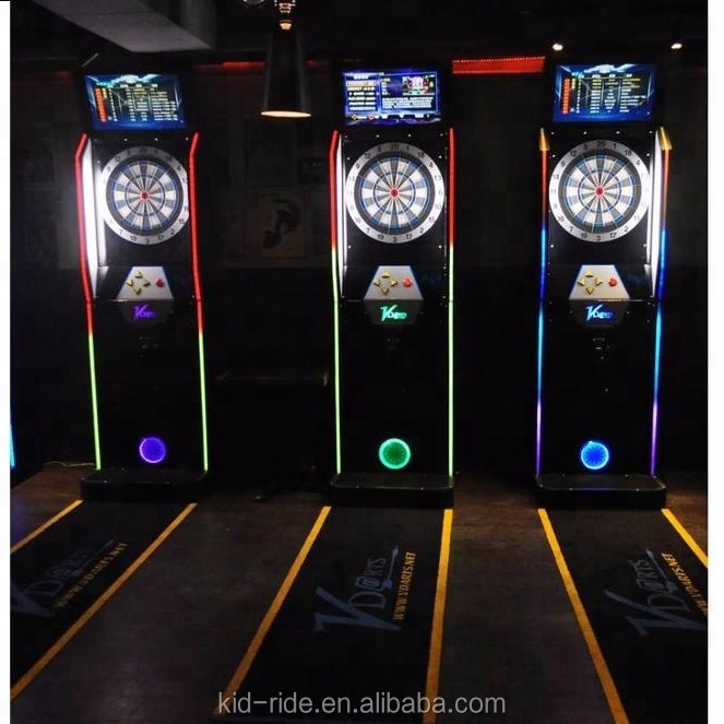 Top Quality Design Kids Coin Operated Dart Game Machine For Sale