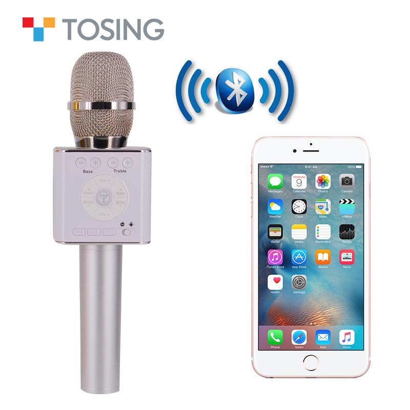 בלתי רגיל מיקרופון עבור IOS/טלפון אנדרואיד מיקרופון אלחוטי לקריוקי karoke EP-88