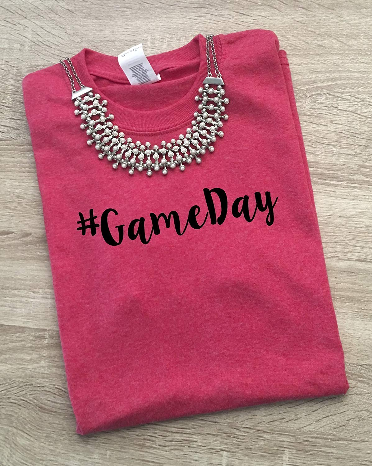 1bc15639 Get Quotations · Game Day Vibes T-Shirt Graphic Tees Football Baseball  Basketball Fan - Mom Shirts Women's