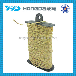 Eco-friendly natrual colored 3 strand natural sisal yarn