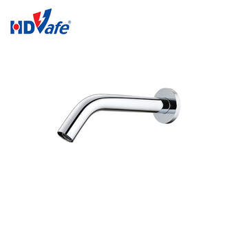 GEEO China Supplier Auto Faucet Sanitary Ware Series Wall Mounted Optical Fiber Automatic Electric Sensor Water Tap with Circuit