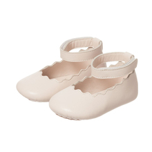 Wholesale Baby Shoes Girl Soft-Soled Flat Shoes Leather Toddler Shoes