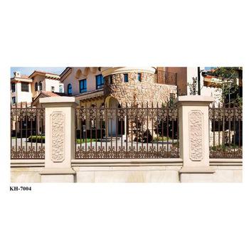 Decorative Security Aluminum Garden Fence Grill Design