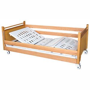 SK010-2 Wooden Hospital Manual Home Care Bed