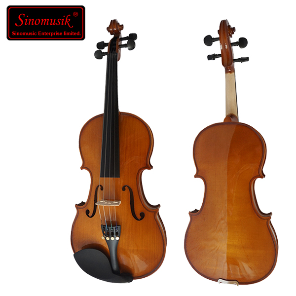 Light primary german color cheap violin with case&bow фото