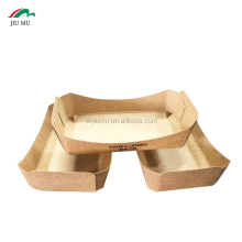 High Quality and Lowest Price Hot Dogs Kraft Paper Packing Boxes with Customized Logo