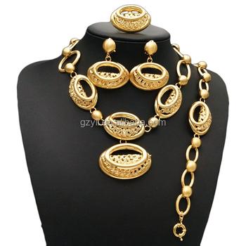 0a4d4fc89a big gold plated jewelry set dubai 18 carat gold jewelry sets online  wholesale shop