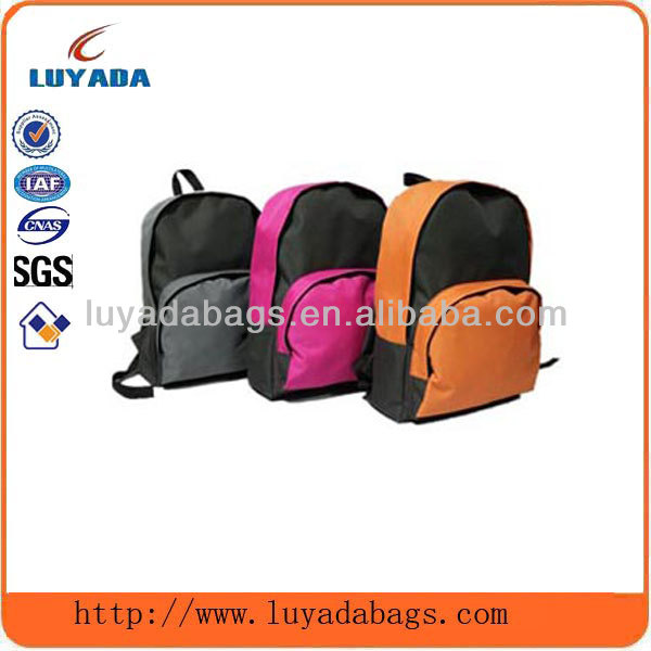 china time padded shoulder strap imported children's backpack