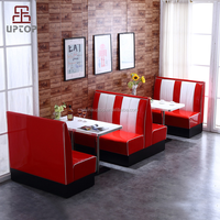 Restaurant Furniture American Retro Diner Booths Seat Diner set Booth restaurant booths for sale