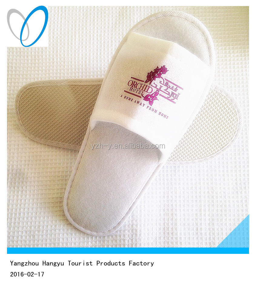 Hotel hot disposable inexpensive open toe wholesale slippers for men
