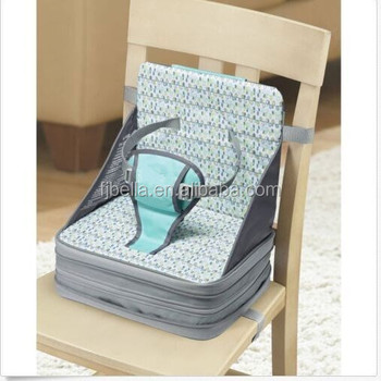 68920340e823c Baby Booster Seat Portable Toddler Childrens Chair Straps 3 Way Safety  Buckle