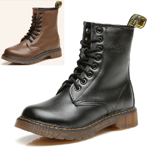 0153bc9f551a Lace Up Winter Boots Flat Ankle Shoes