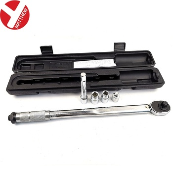 1/2 Inch NM Click Type Preset Torque Wrench with Jackets