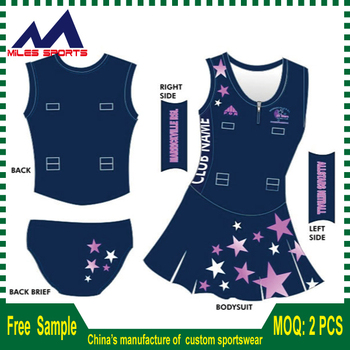 e087f9a57b4 Custom made design team sport women netball uniforms, netball dress, netball  wea