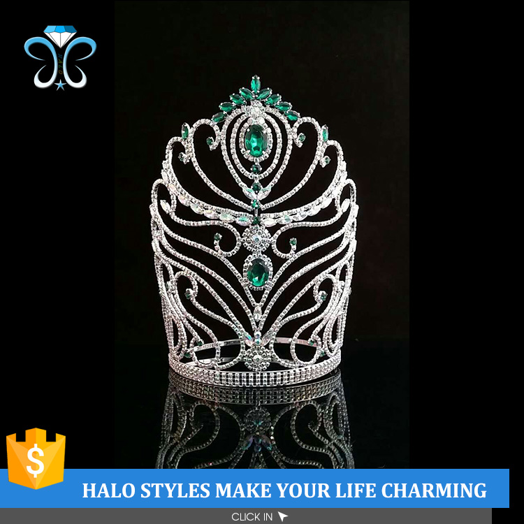 2017 New Design Rhinestone Bridal Wedding <strong>Crowns</strong> In China H172-315