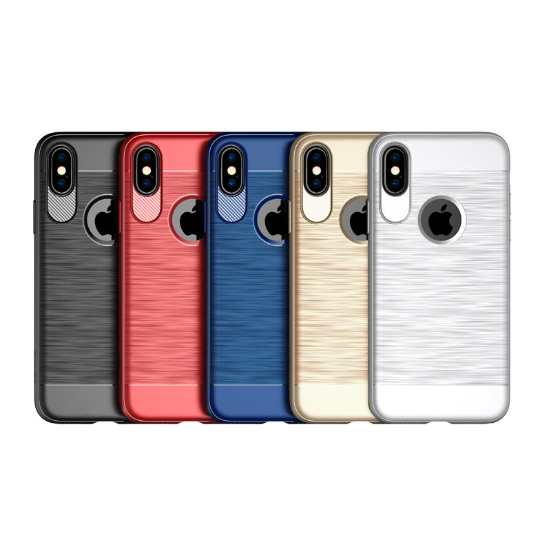 USAMS LW001 Free Shipping Cheap Price Back Cover Square TPU phone case For Iphone X фото