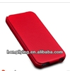 for Apple iphone 5 luxury leather case,hot forming design with back cover