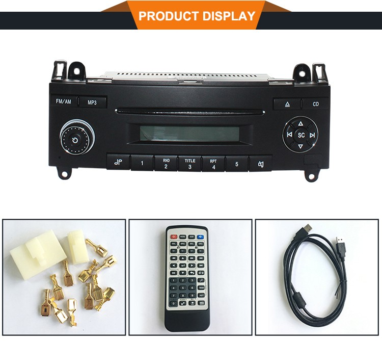Pioneer Xe Vertical Slim CD Player với AM FM Radio cho Sprinter