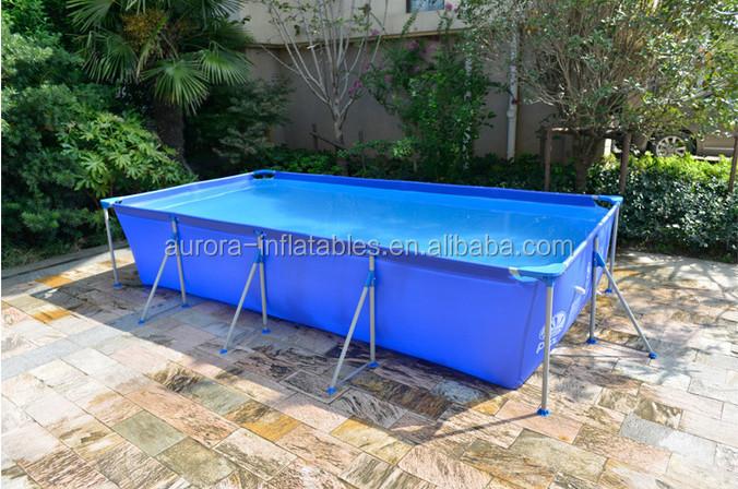2016 Hot Sale Frame Pools Intex Swimming Pool Buy Frame Pool Swimming Pool Outdoor Metal