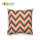 Wholesale geometric stripe design sublimation decorative custom12x12 throw pillow covers
