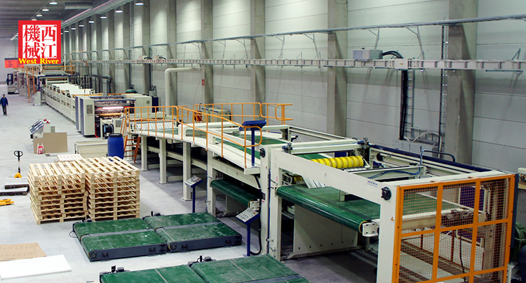 3 Layer 5 Layer High Speed Packaging Corrugated Cardboard Production Line