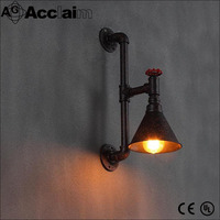 industrial loft Edison bulb iron wall sconce lamp