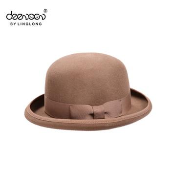 Wool Felt Bowler Hat For Men Formal Hats Wholesale Bowler Hat ... 7fc592d73b6