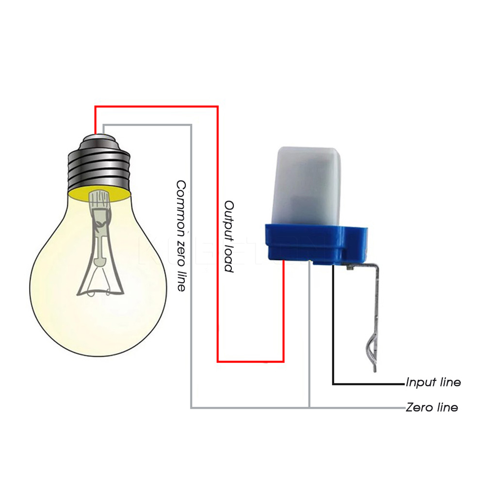 My Life Cara Pasang Sensor Cahaya Lampu Auto Off
