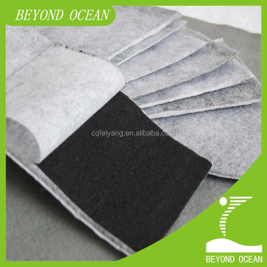 1mm laminated activated carbon fiber felt for mask